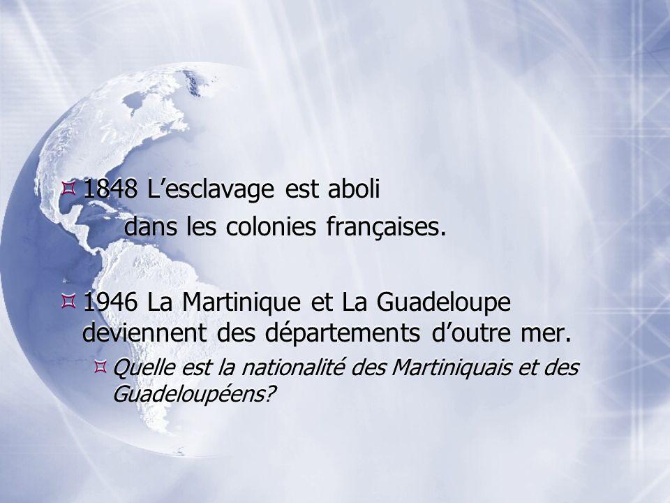 dans les colonies françaises.