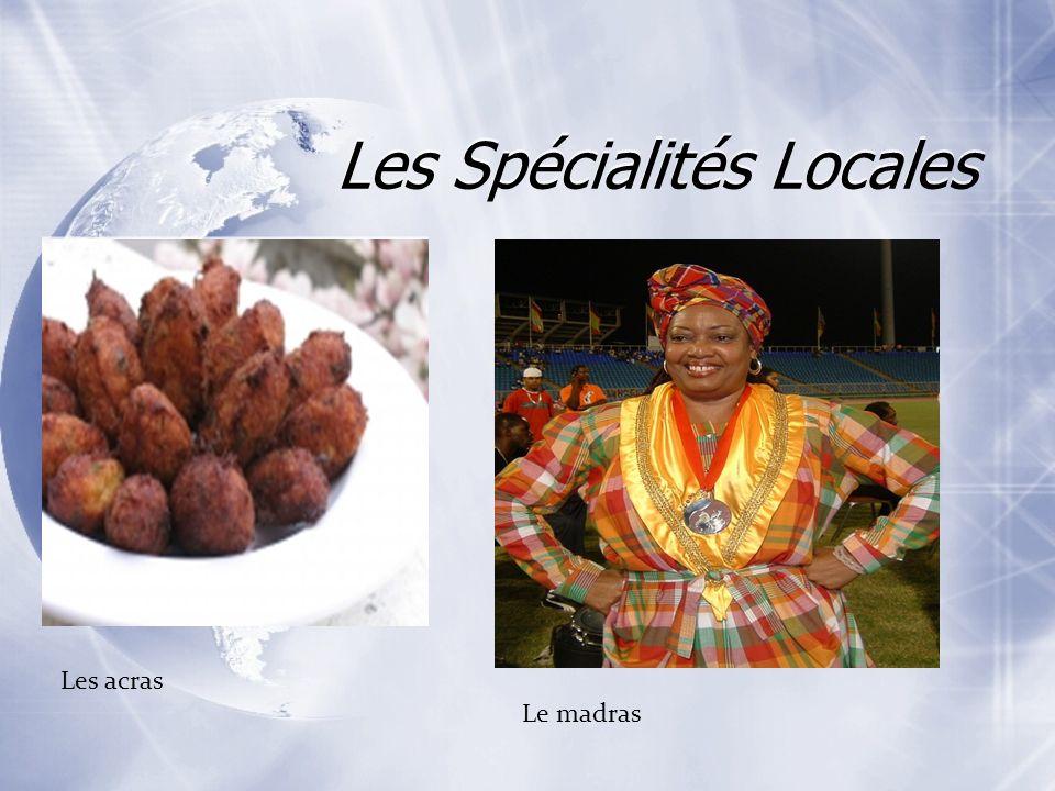 Les Spécialités Locales