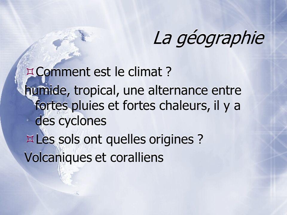 La géographie Comment est le climat