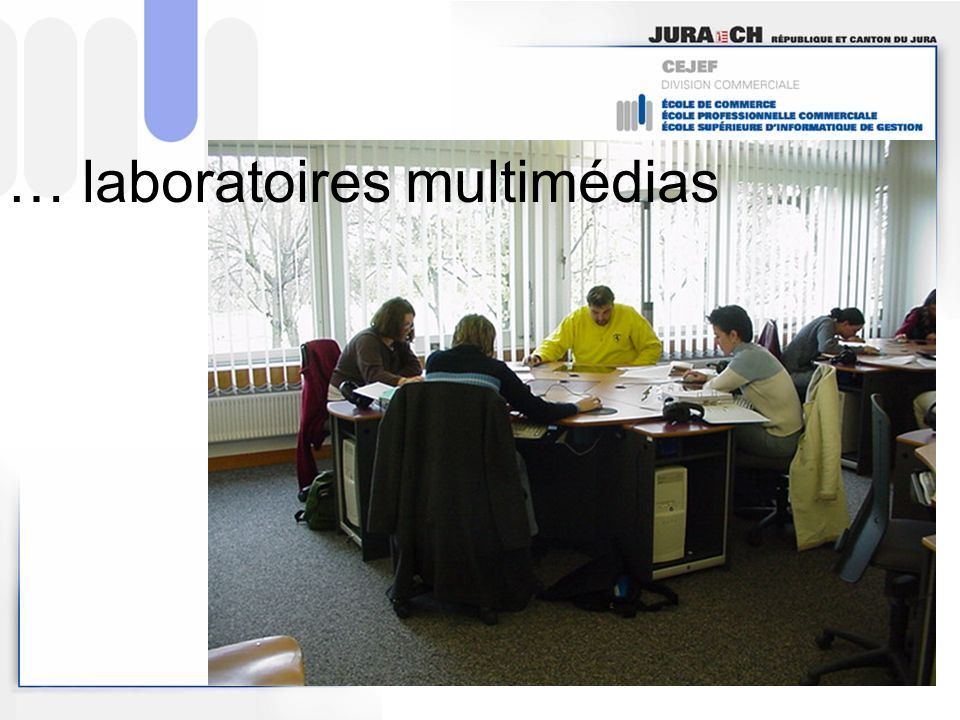 … laboratoires multimédias