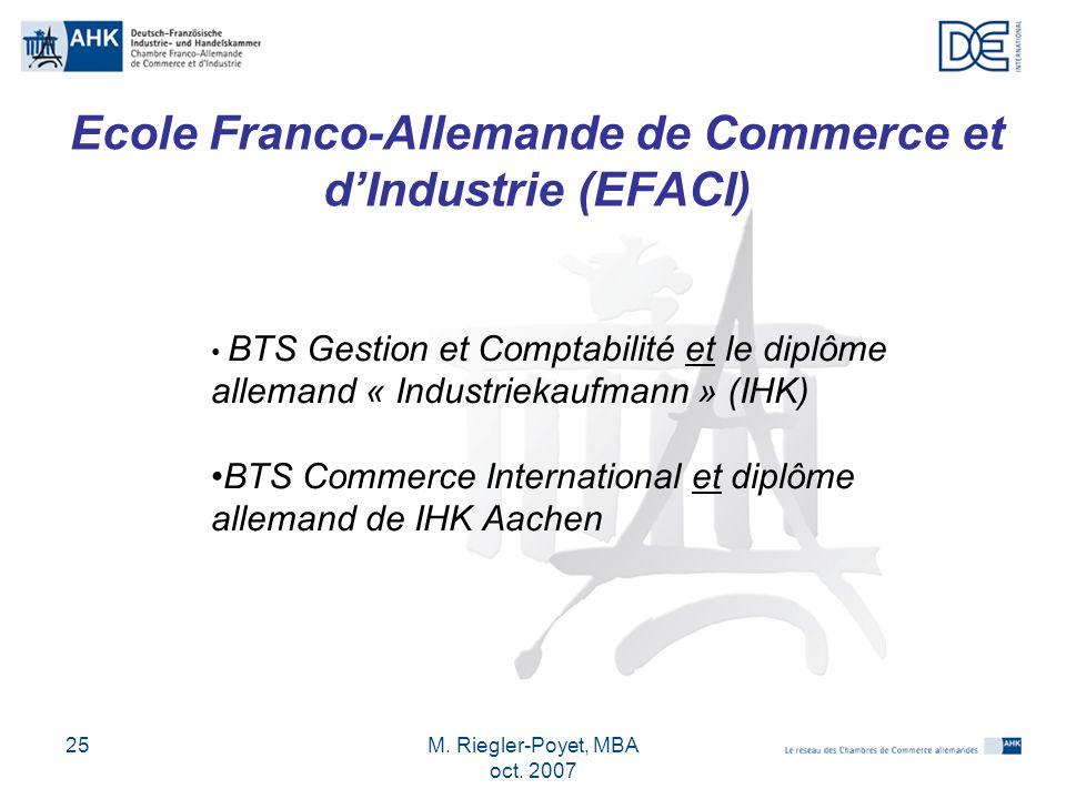 Ecole Franco-Allemande de Commerce et d'Industrie (EFACI)
