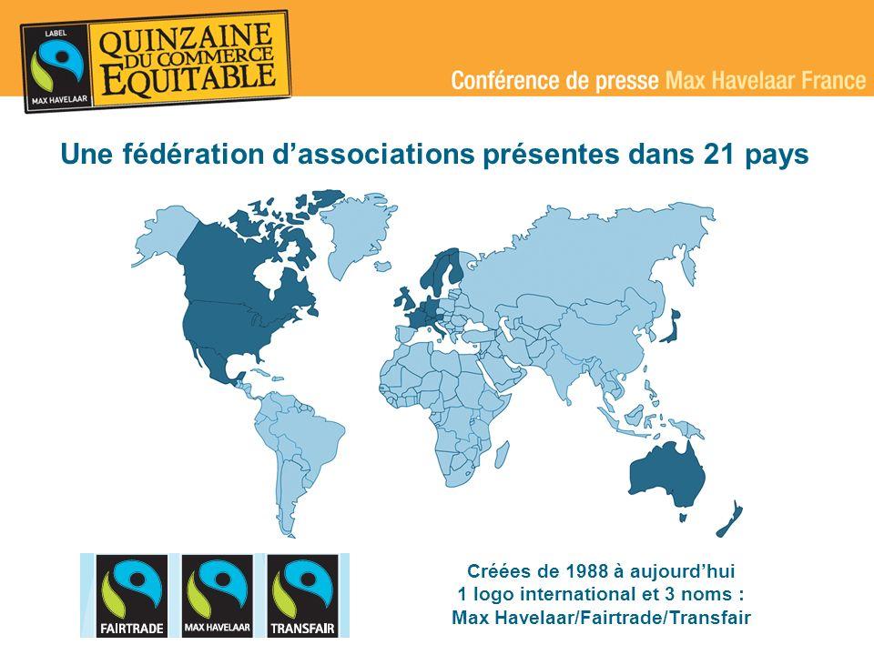 Une fédération d'associations présentes dans 21 pays
