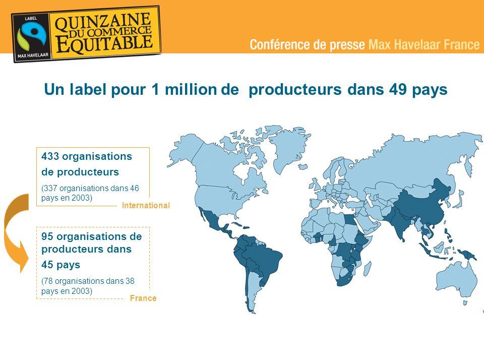 Un label pour 1 million de producteurs dans 49 pays