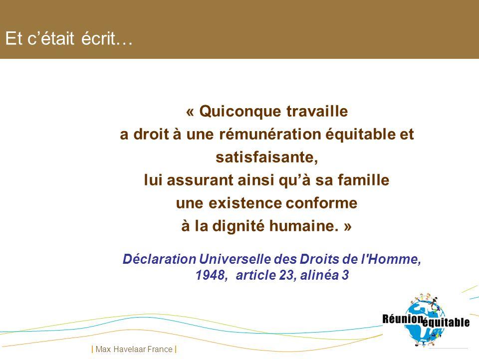 Déclaration Universelle des Droits de l Homme,