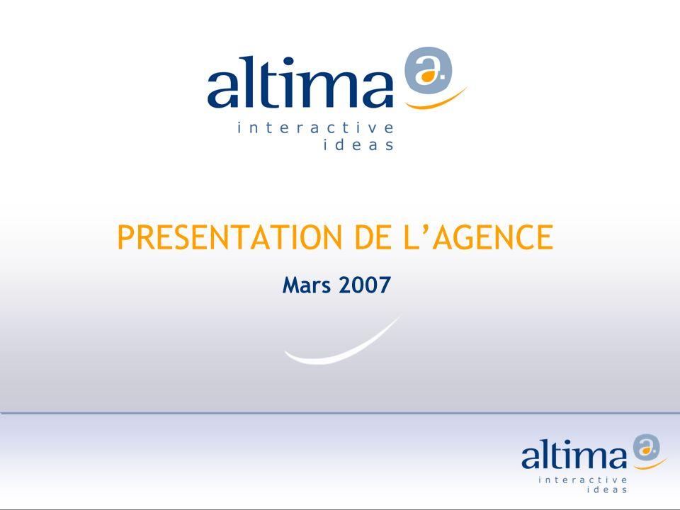 PRESENTATION DE L'AGENCE
