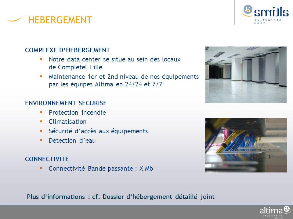 HEBERGEMENT COMPLEXE D'HEBERGEMENT