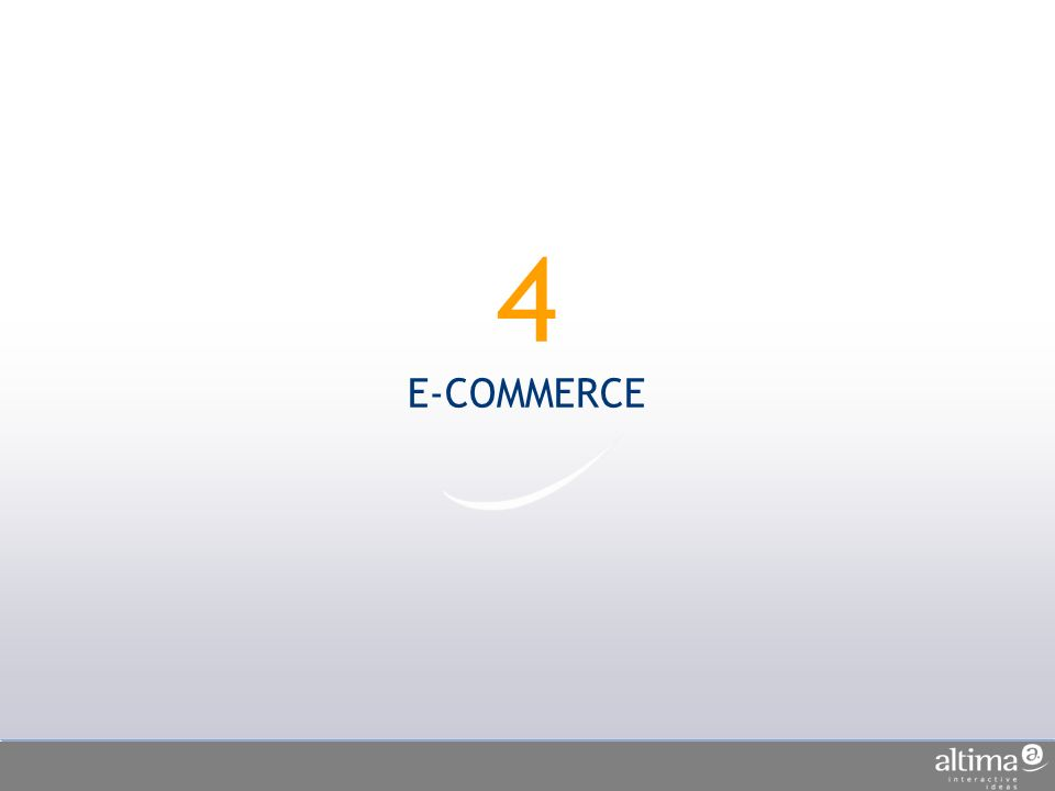 4 E-COMMERCE