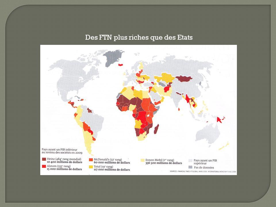 Des FTN plus riches que des Etats
