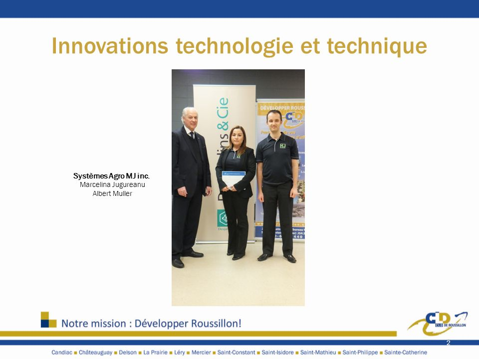 Innovations technologie et technique