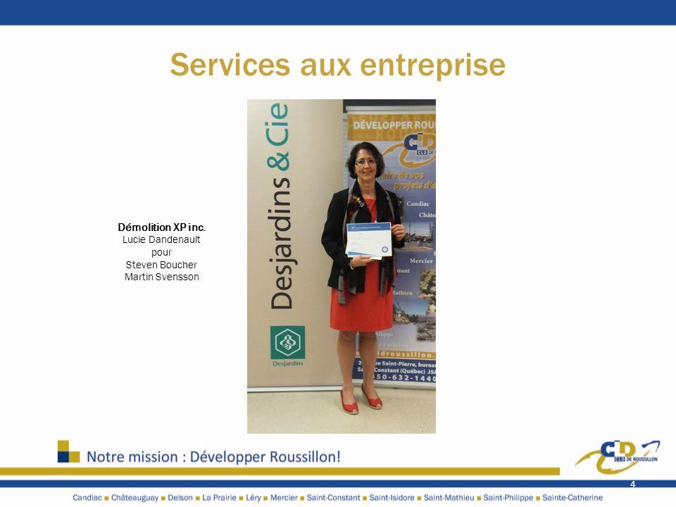 Services aux entreprise
