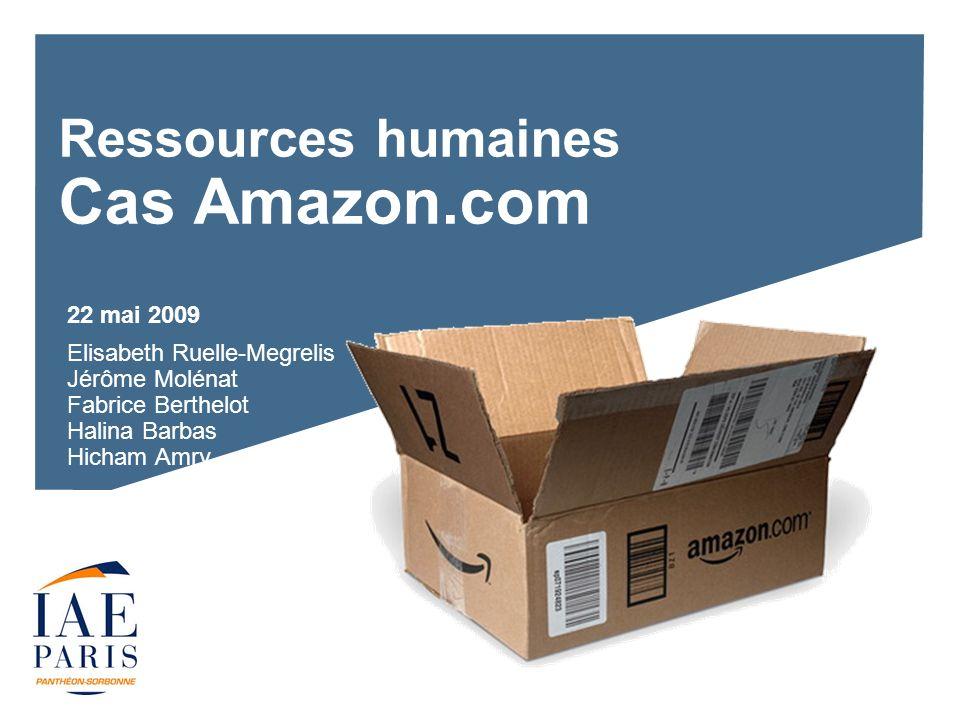 Ressources humaines Cas Amazon.com