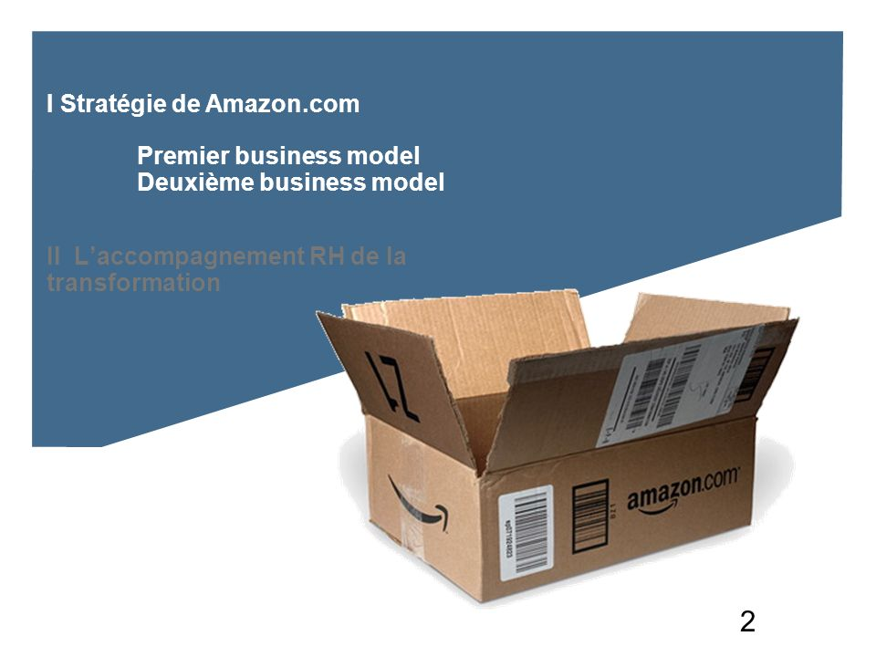 I Stratégie de Amazon. com. Premier business model