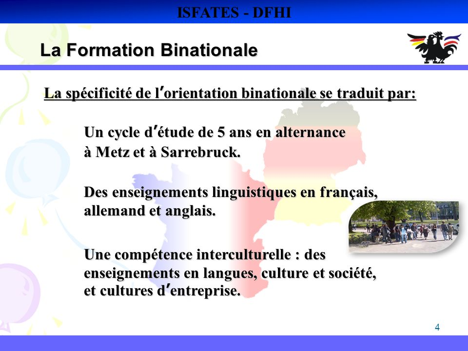 La Formation Binationale