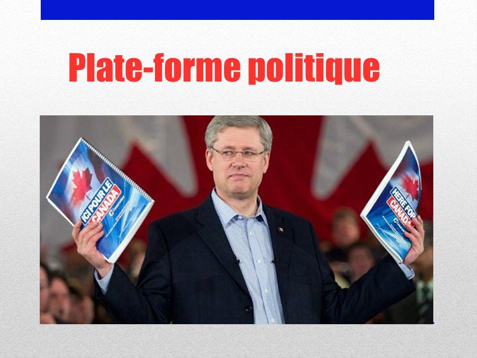 Plate-forme politique