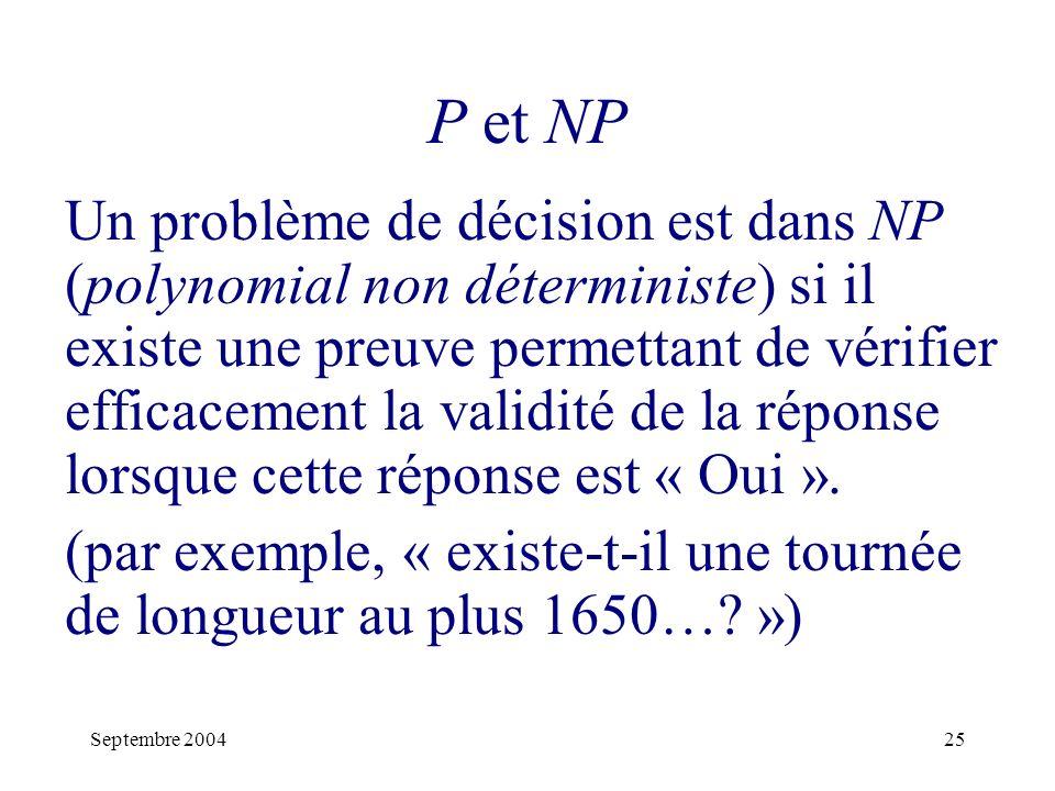 P et NP