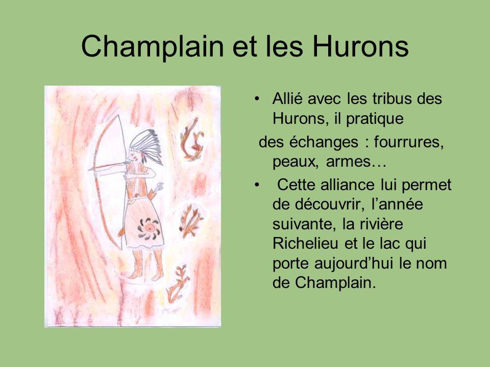 Champlain et les Hurons