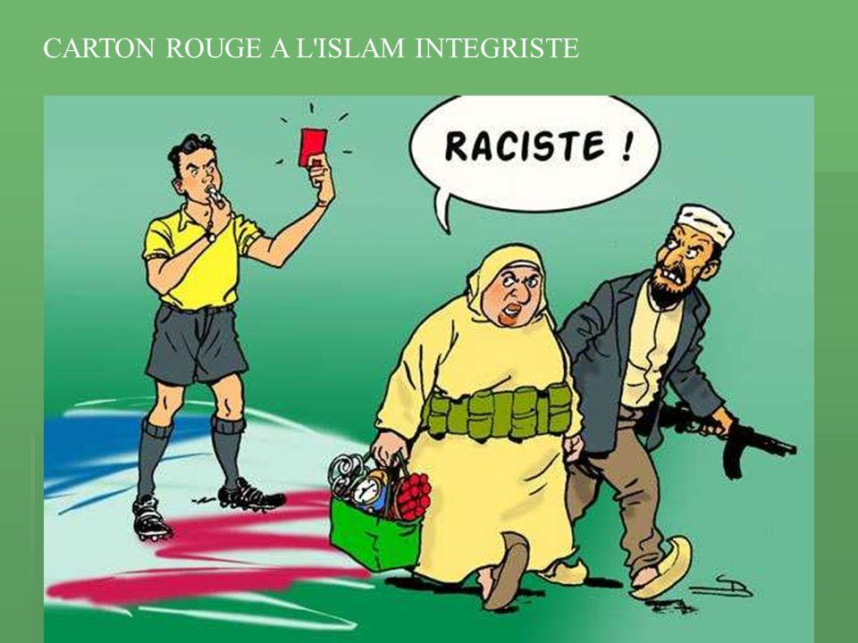 CARTON ROUGE A L ISLAM INTEGRISTE