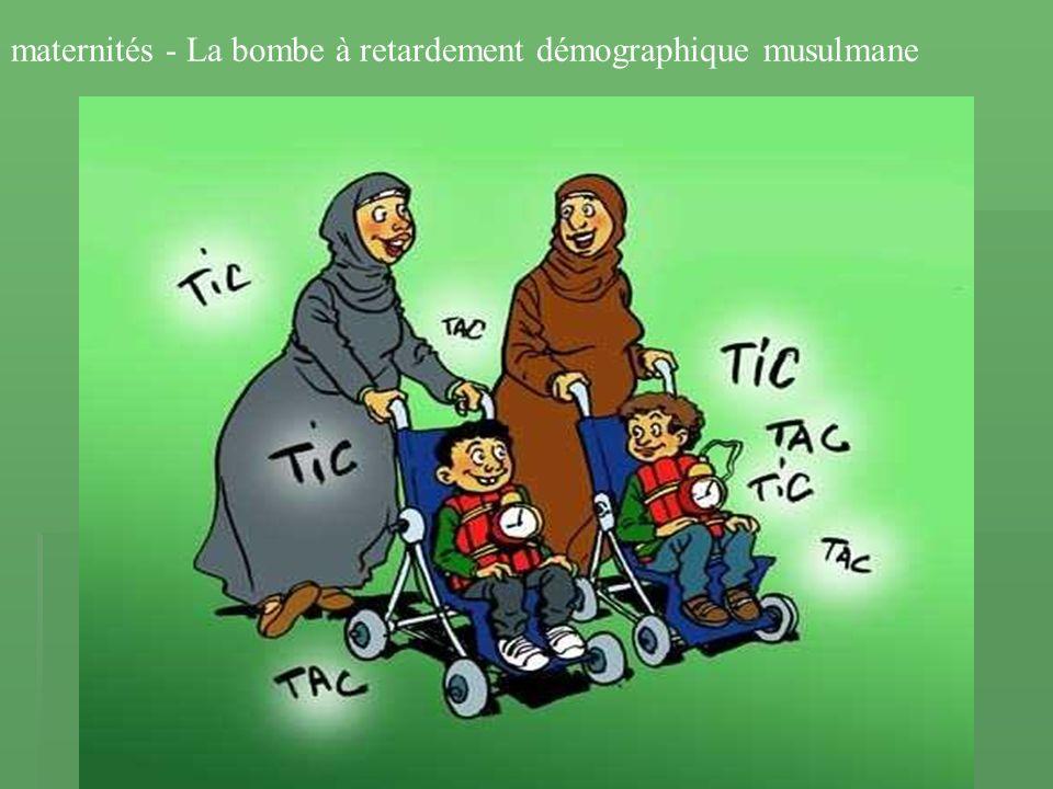 maternités - La bombe à retardement démographique musulmane