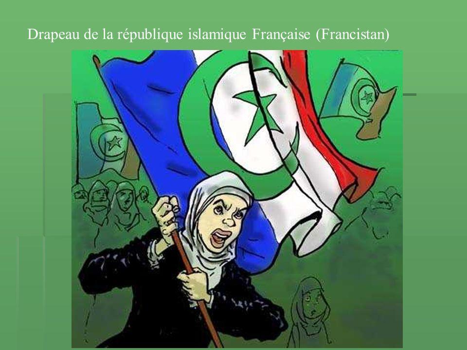 Drapeau de la république islamique Française (Francistan)