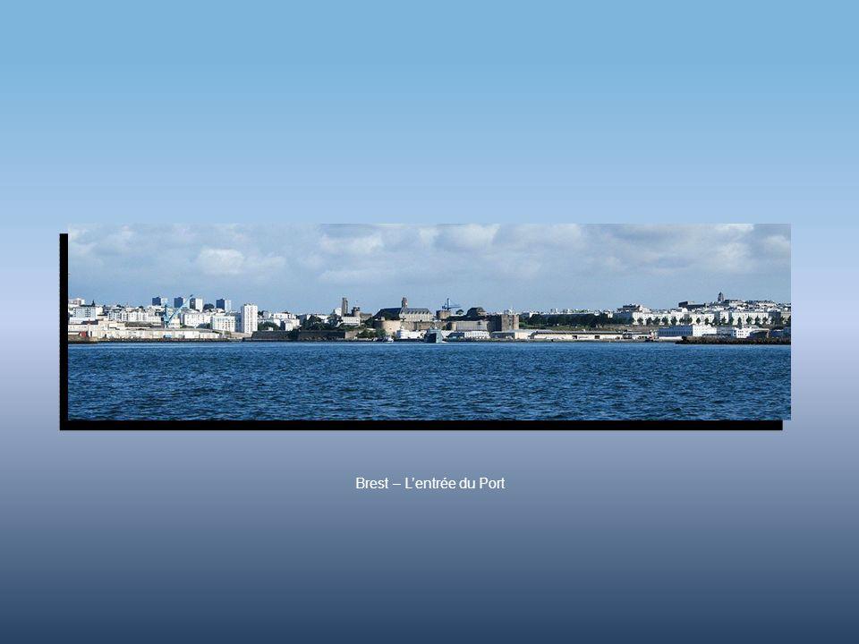 Brest – L'entrée du Port