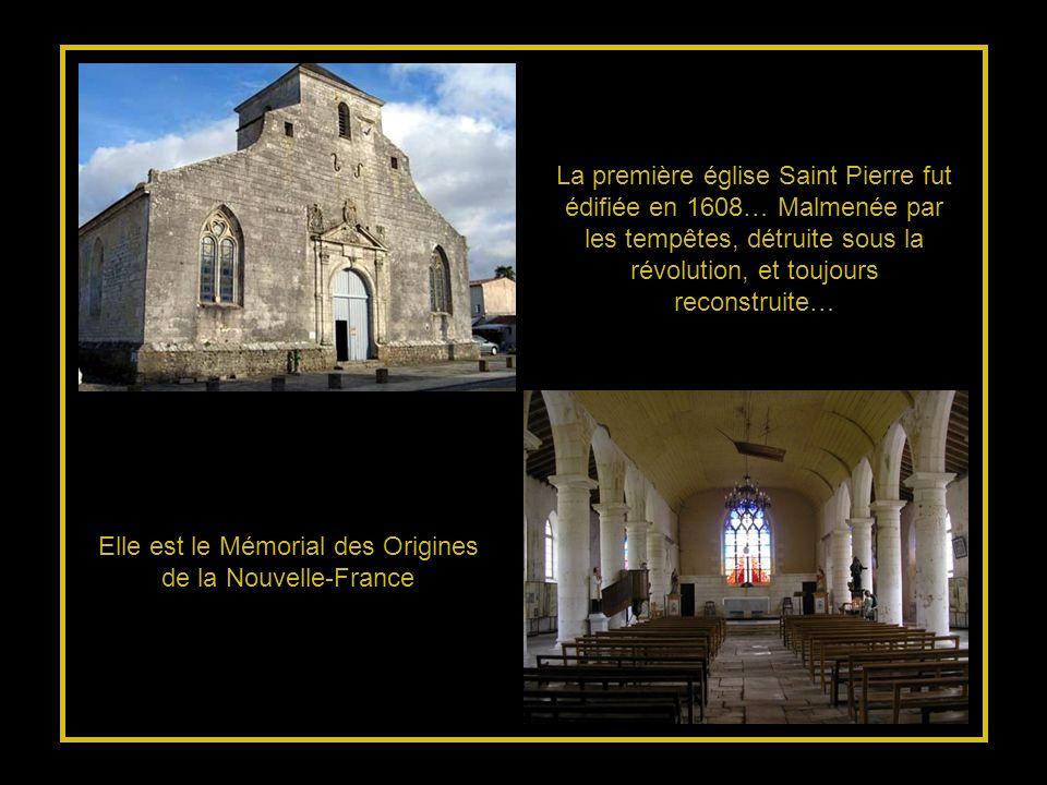 Elle est le Mémorial des Origines de la Nouvelle-France