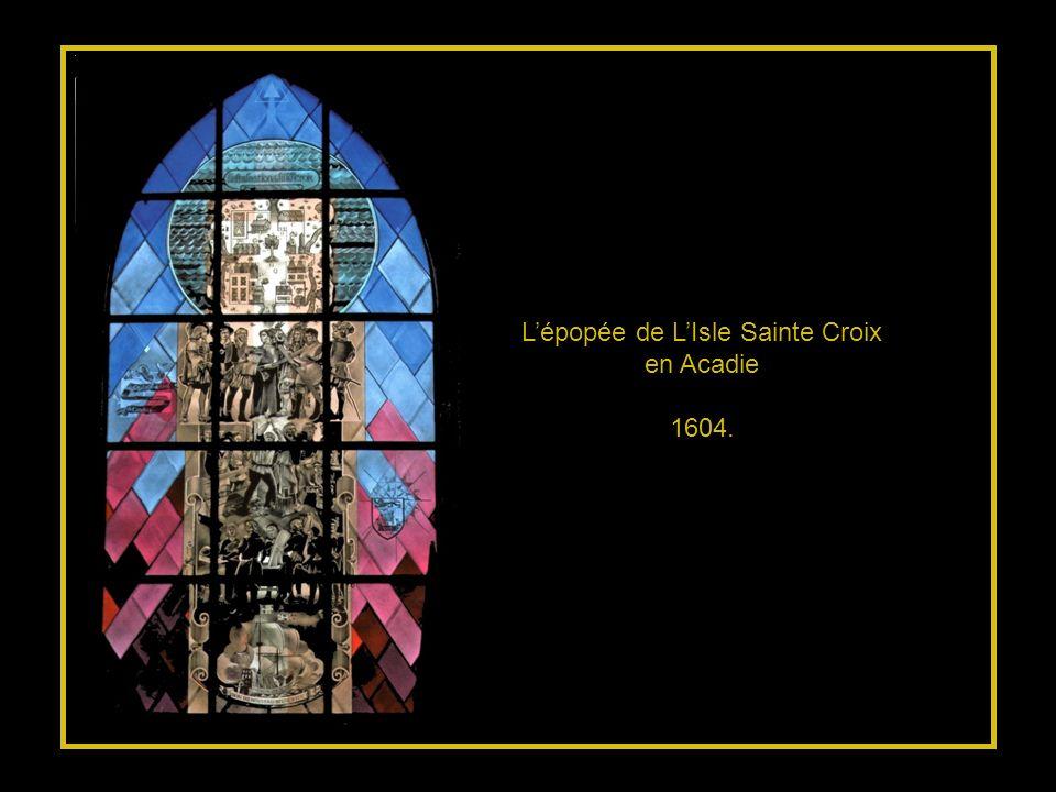 L'épopée de L'Isle Sainte Croix