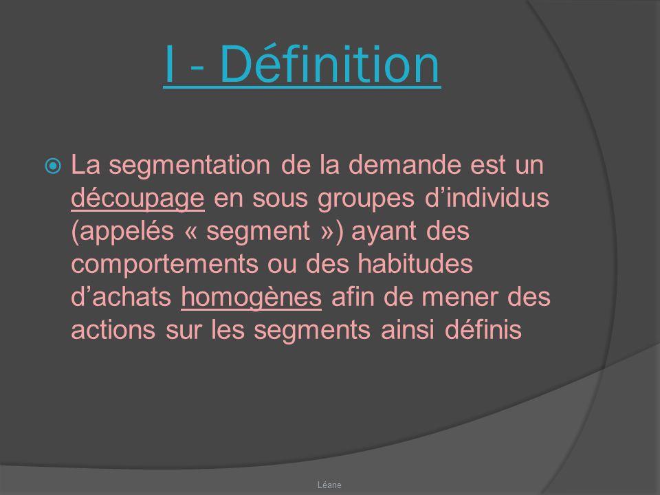 I - Définition