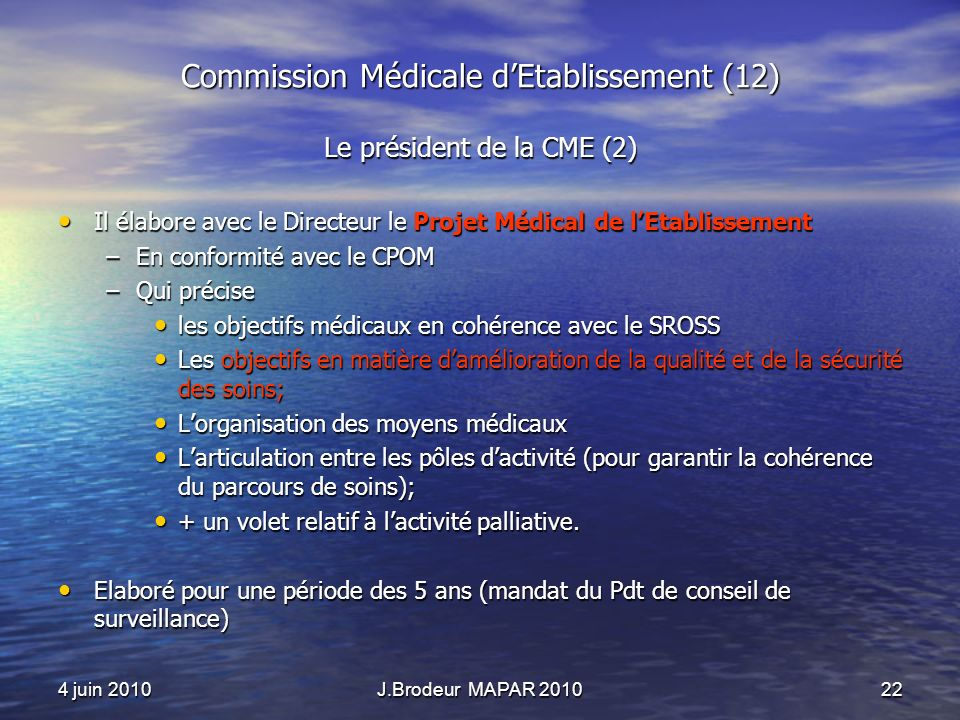 Commission Médicale d'Etablissement (12)