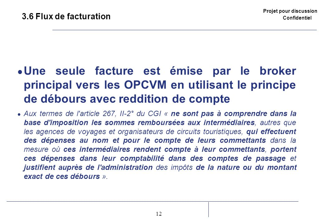 3.6 Flux de facturation