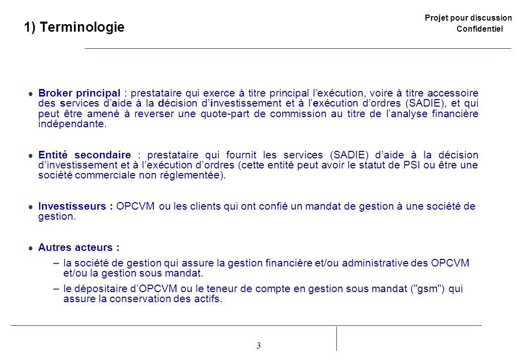 1) Terminologie