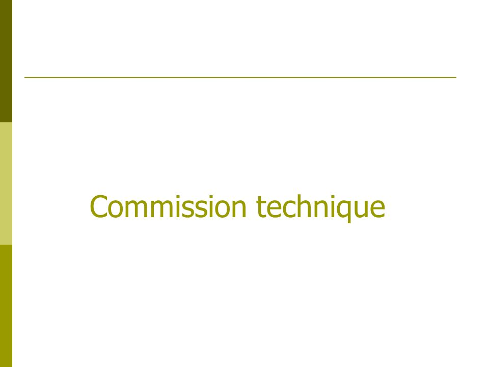 Commission technique