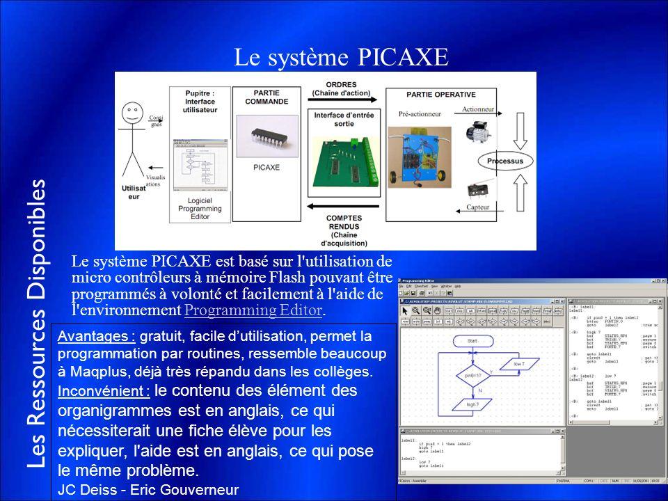 Le système PICAXE