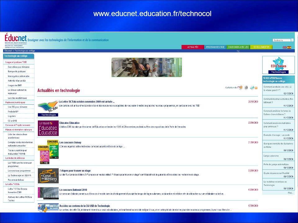 www.educnet.education.fr/technocol