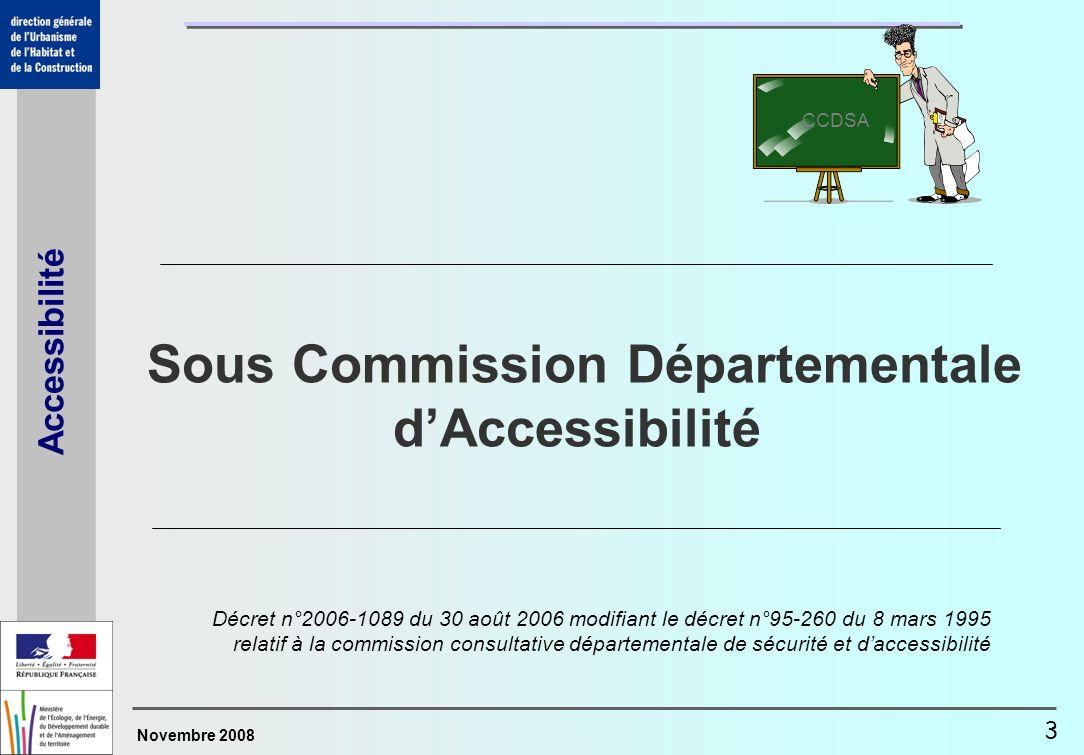Sous Commission Départementale d'Accessibilité
