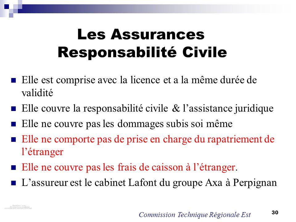 Les Assurances Responsabilité Civile