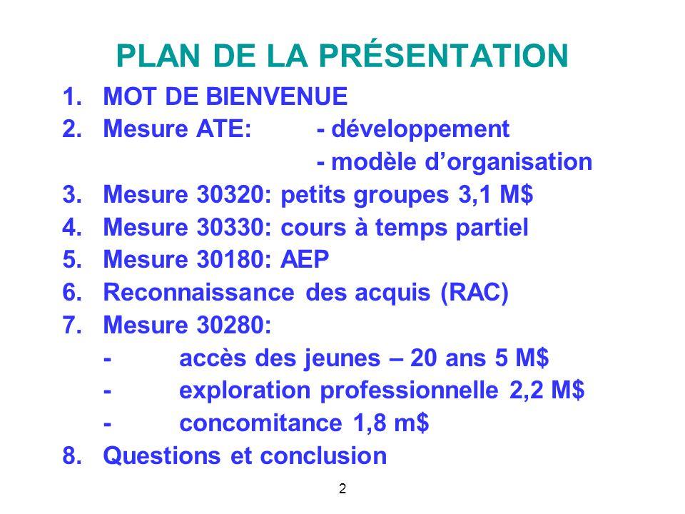 ACSQ Les allocations spécifiques dédiées au financement d'activités éducatives de la formation professionnelle 2008-2009 bernard.laflamme@mels.qouv.qc.ca laflamme.bernard@videotron.qc.ca février 2009