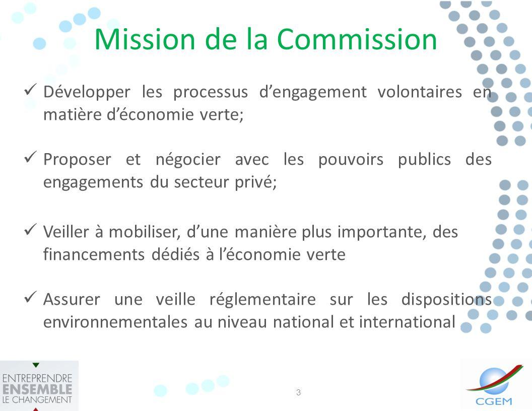 Mission de la Commission