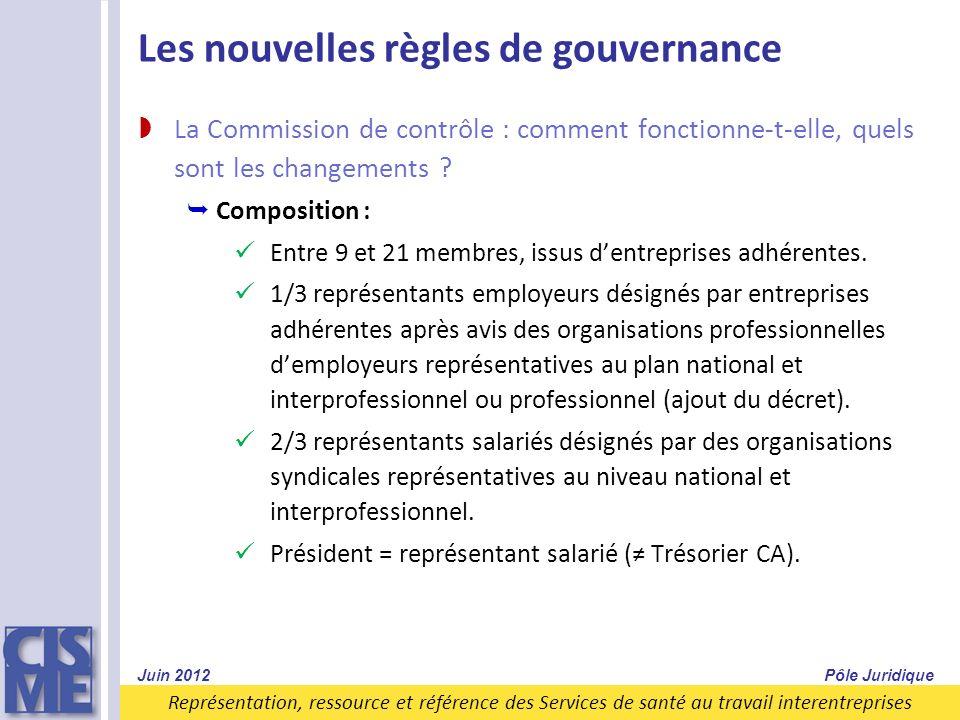 Les nouvelles règles de gouvernance