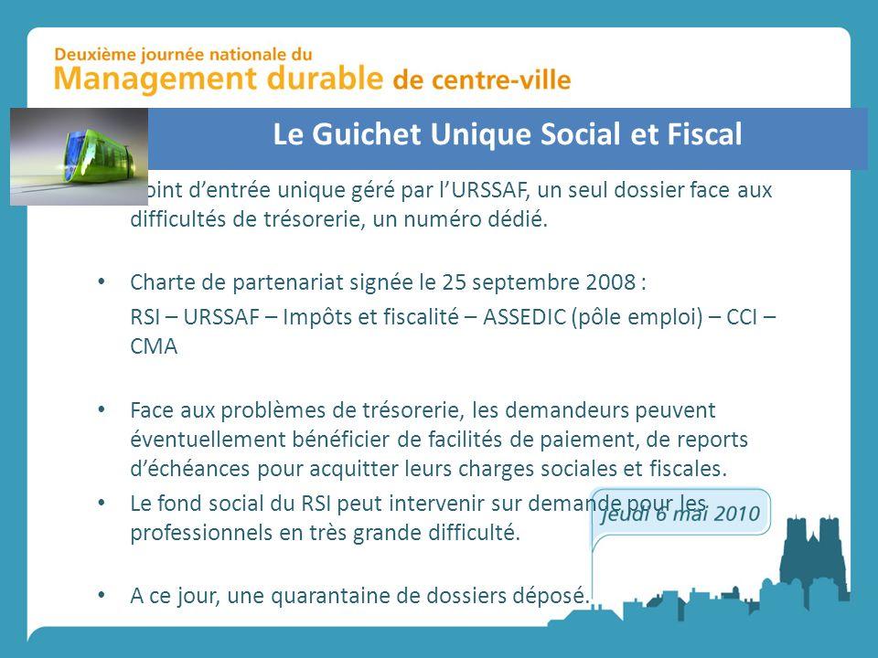 Le Guichet Unique Social et Fiscal