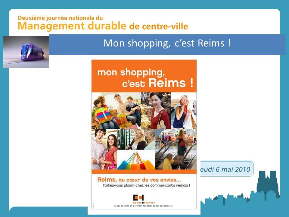 Mon shopping, c'est Reims !