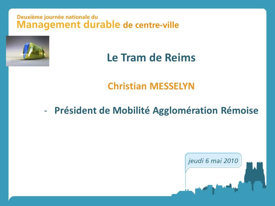 Président de Mobilité Agglomération Rémoise