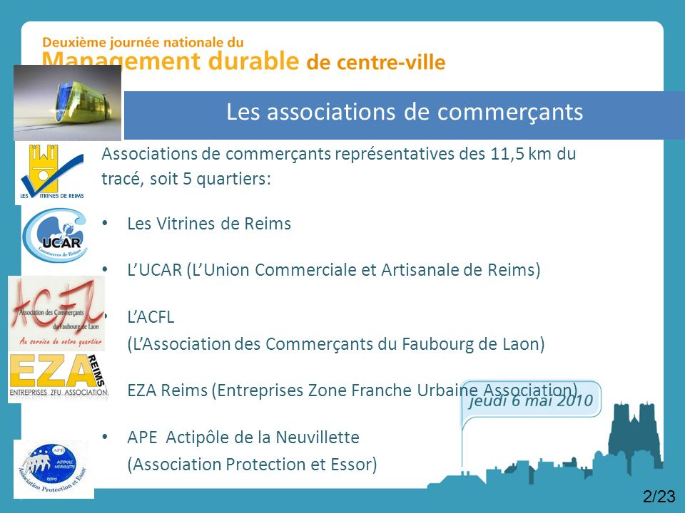 Les associations de commerçants