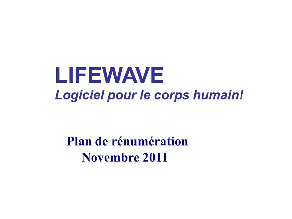 LIFEWAVE Logiciel pour le corps humain!