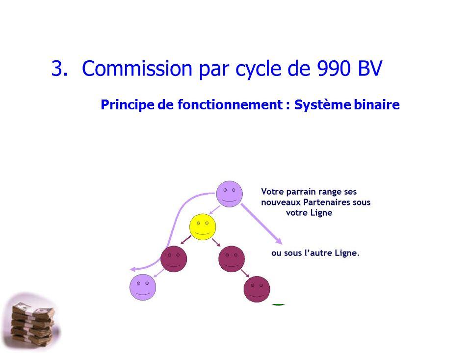 Principe de fonctionnement : Système binaire