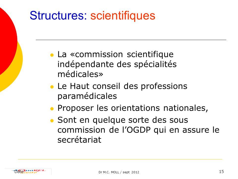 Structures: scientifiques
