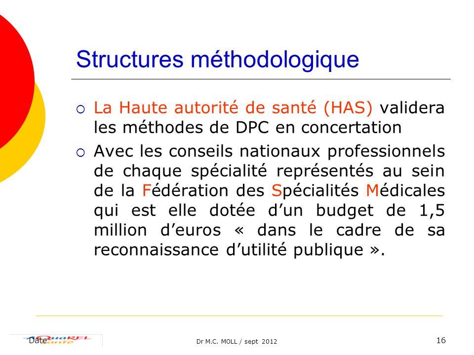 Structures méthodologique