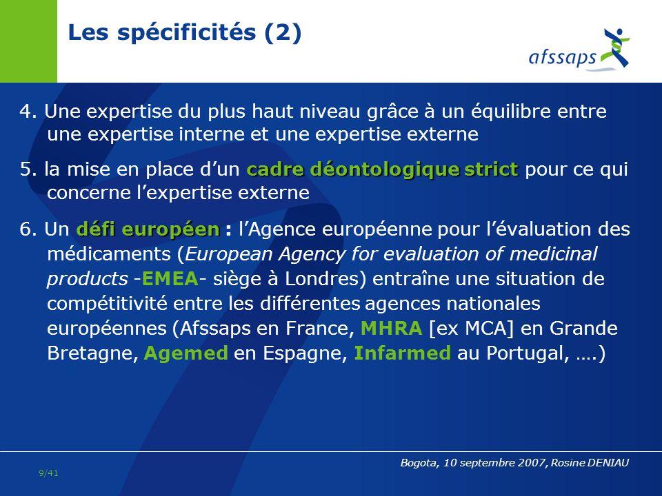 31/03/2017 Les spécificités (2) 4. Une expertise du plus haut niveau grâce à un équilibre entre une expertise interne et une expertise externe.