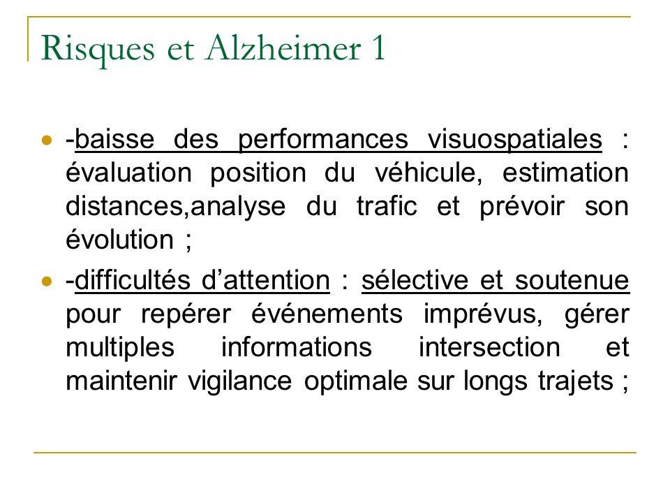 Risques et Alzheimer 1