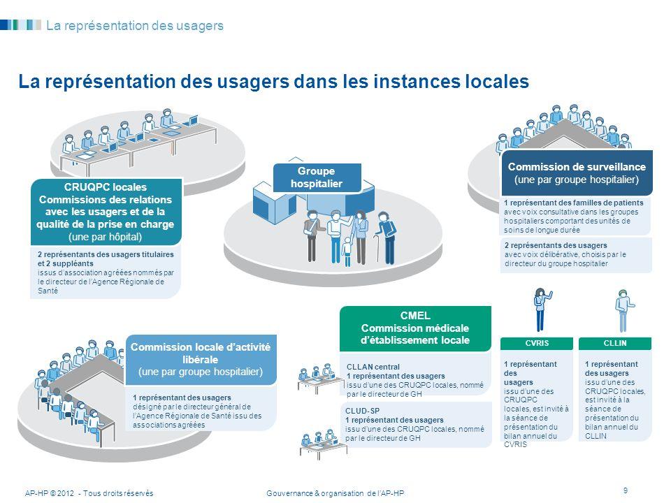 La représentation des usagers dans les instances locales