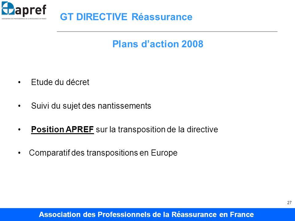 GT DIRECTIVE Réassurance
